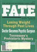 Fate Magazine (1948-Present Clark Publishing) Digest/Magazine Vol. 40 #12
