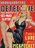 Headquarters Detective (1940) True Crime Magazine Vol. 2 #1