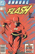 Flash (1987 2nd Series) Annual Canadian Price Variant 1