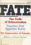 Fate Magazine (1948-Present Clark Publishing) Digest/Magazine Vol. 34 #4