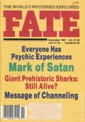 Fate Magazine (1948-Present Clark Publishing) Digest/Magazine Vol. 40 #11