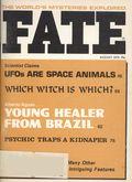 Fate Magazine (1948-Present Clark Publishing) Digest/Magazine Vol. 29 #8