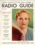 Radio Guide (1931-1943 Regal Press Inc) Nov 27 1937