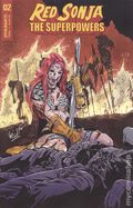Red Sonja The Superpowers (2021 Dynamite) 2D