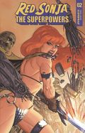 Red Sonja The Superpowers (2021 Dynamite) 2G