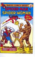 7-Eleven Spider-Man and Spider-Woman Mini Comic (1981) 1981