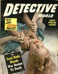Detective World (1943-1981 Detective World Inc) True Crime Magazine Vol. 4 #4