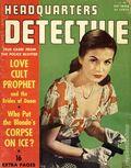 Headquarters Detective (1940) True Crime Magazine Vol. 7 #2