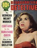 Headquarters Detective (1940) True Crime Magazine Vol. 9 #10