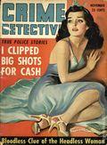 Crime Detective (1938-1953 1st Series) True Crime Magazine Vol. 4 #12