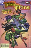Teen Titans (2003-2011 3rd Series) 20DF.SIGNED