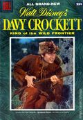 Dell Giant Davy Crockett King of the Wild Frontier (1955 Dell) 1