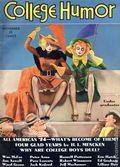 College Humor (1934-1943 Dell Publishing Co) Vol. 1 #1