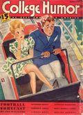 College Humor (1934-1943 Dell Publishing Co) Vol. 9 #1