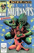 New Mutants (1983 1st Series) Mark Jewelers 72MJ