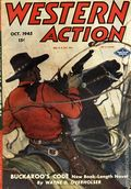 Western Action Novels Magazine (1936-1960 Columbia) 1st Series Pulp Vol. 10 #2