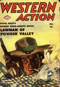 Western Action Novels Magazine (1936-1960 Columbia) 1st Series Pulp Vol. 8 #5