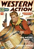 Western Action Novels Magazine (1936-1960 Columbia) 1st Series Pulp Vol. 15 #6