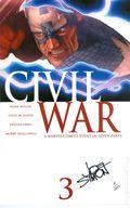 Civil War (2006 Marvel) 3A.DF.SIGNED.B