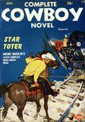 Complete Cowboy Novel Magazine (1939-1950 Blue Ribbon Magazines) Pulp Vol. 9 #1