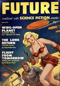 Future Combined with Science Fiction (1950-1951 Columbia Publications) Pulp 2nd Series Vol. 1 #3