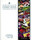 American Comic Book Chronicles: The 1990s HC (2018 TwoMorrows) 1-REP