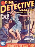 Dime Detective Magazine (1931-1953 Popular Publications) Pulp Oct 1950