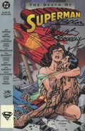 Superman The Death of Superman TPB (1993 DF Signed) 1-1ST