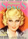 Popular Songs (1935 Dell Publishing) Magazine Vol. 1 #9