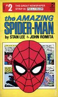 Amazing Spider-Man The Great Newspaper Strip in Full Color PB (1980 Pocket Book) 2-1ST