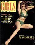 Cover Girls Models (1949-1955 Models Publishing Co.) Magazine Vol. 2 #4