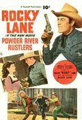 Powder River Rustlers (1950) Fawcett Movie Comic 1