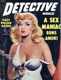 Detective World (1943-1981 Detective World Inc) True Crime Magazine Vol. 8 #4