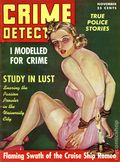 Crime Detective (1938-1953 1st Series) True Crime Magazine Vol. 3 #12