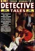 Detective Tales (1935-1953 Popular Publications) Pulp 2nd Series Vol. 8 #1