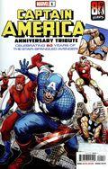 Captain America Anniversary Tribute (2021 Marvel) 1A