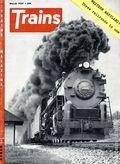 Trains (1940 Kalmbach Publishing) Magazine Vol. 14 #5