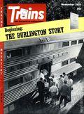 Trains (1940 Kalmbach Publishing) Magazine Vol. 16 #1