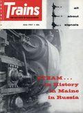 Trains (1940 Kalmbach Publishing) Magazine Vol. 17 #8