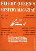 Ellery Queen's Mystery Magazine (1955-1959 Davis-Dell) Text Only Edition Vol. 30 #6