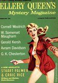 Ellery Queen's Mystery Magazine (1941-Present Davis-Dell) Vol. 33 #2A