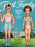 First Family Paper Doll and Cut-Out Book (1981 Dell Publishing Co) 0-REP