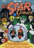 All Star Comics Mini Comic (2004 DC Direct) 1st Appearance Action Figure Reprint 8
