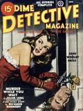 Dime Detective Magazine (1931-1953 Popular Publications) Pulp Jan 1947