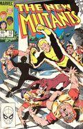 New Mutants (1983 1st Series) Mark Jewelers 10MJ