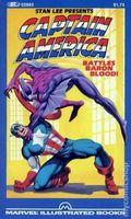 Captain America Battles Baron Blood PB (1982 Marvel Illustrated Books) 1-1ST