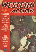 Western Action Novels Magazine (1936-1960 Columbia) 1st Series Pulp Vol. 13 #2