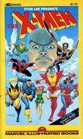 X-Men PB (1982 Marvel Illustrated Books) 1-1ST