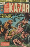 Ka-Zar (1974) UK Edition 11UK