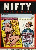 Nifty Gals & Gags (1947-1958 Dearfield Publishing) Nov 1950